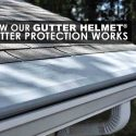 How Our Gutter Helmet® Gutter Protection Works